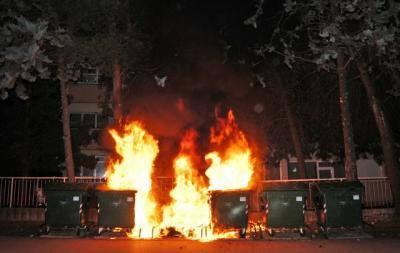Požar kontjenera za smeće – 23.04.2016 Umag