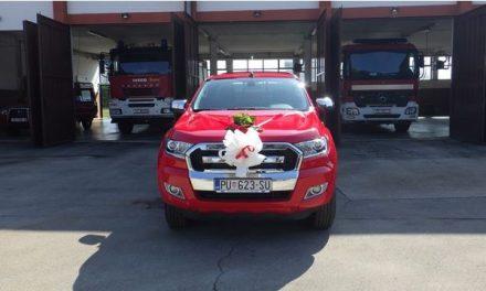 Novo vozilo za Javnu vatrogasnu postrojbu Umag