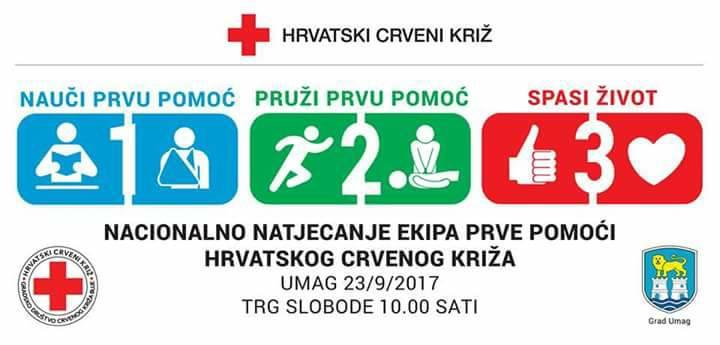 Nacionalno natjecanje ekipa prve pomoći HCK-a
