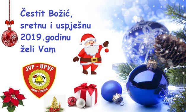 Sretan Božić i Nova 2019 godina