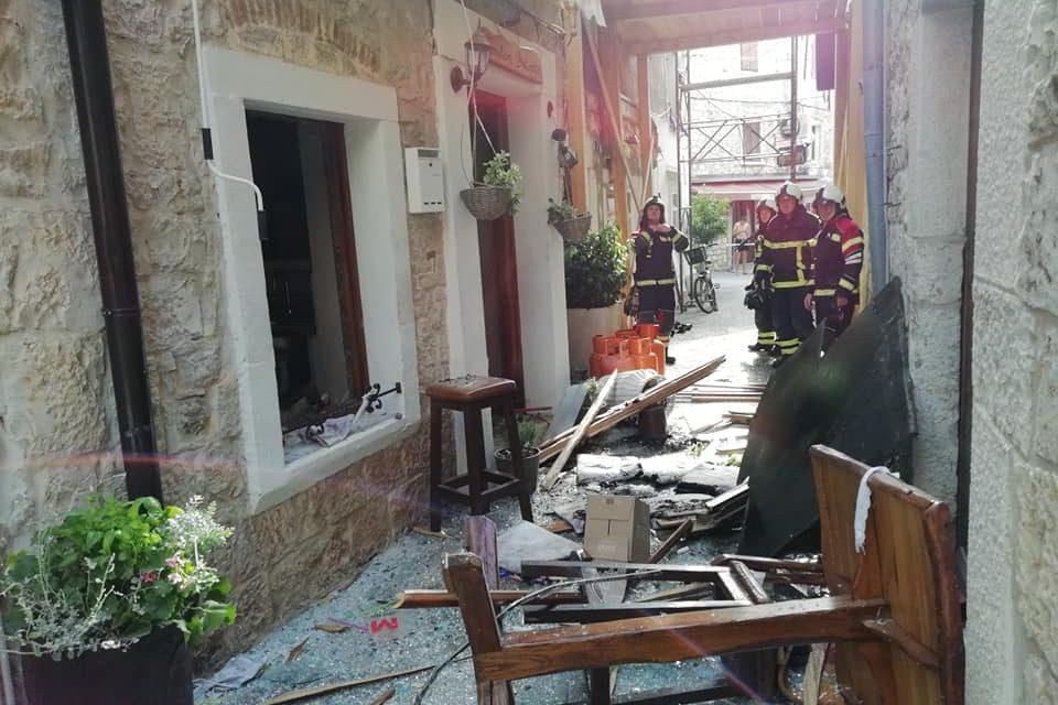 04.07.2019. Eksplozija u ugostiteljskom objektu