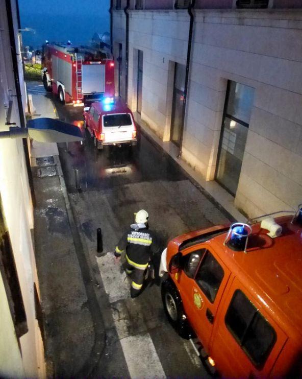 Požar Vila Lorena u Novigradu