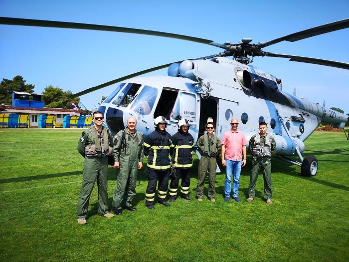Umag posjetili članovi Hrvatskog ratnog zrakoplovstva 🚁