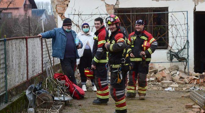 Pružanje pomoći u potresom razorenim krajevima Sisačko–moslavačke županije